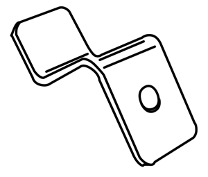 Picture of 3mm Offset Clip With Screws (250)