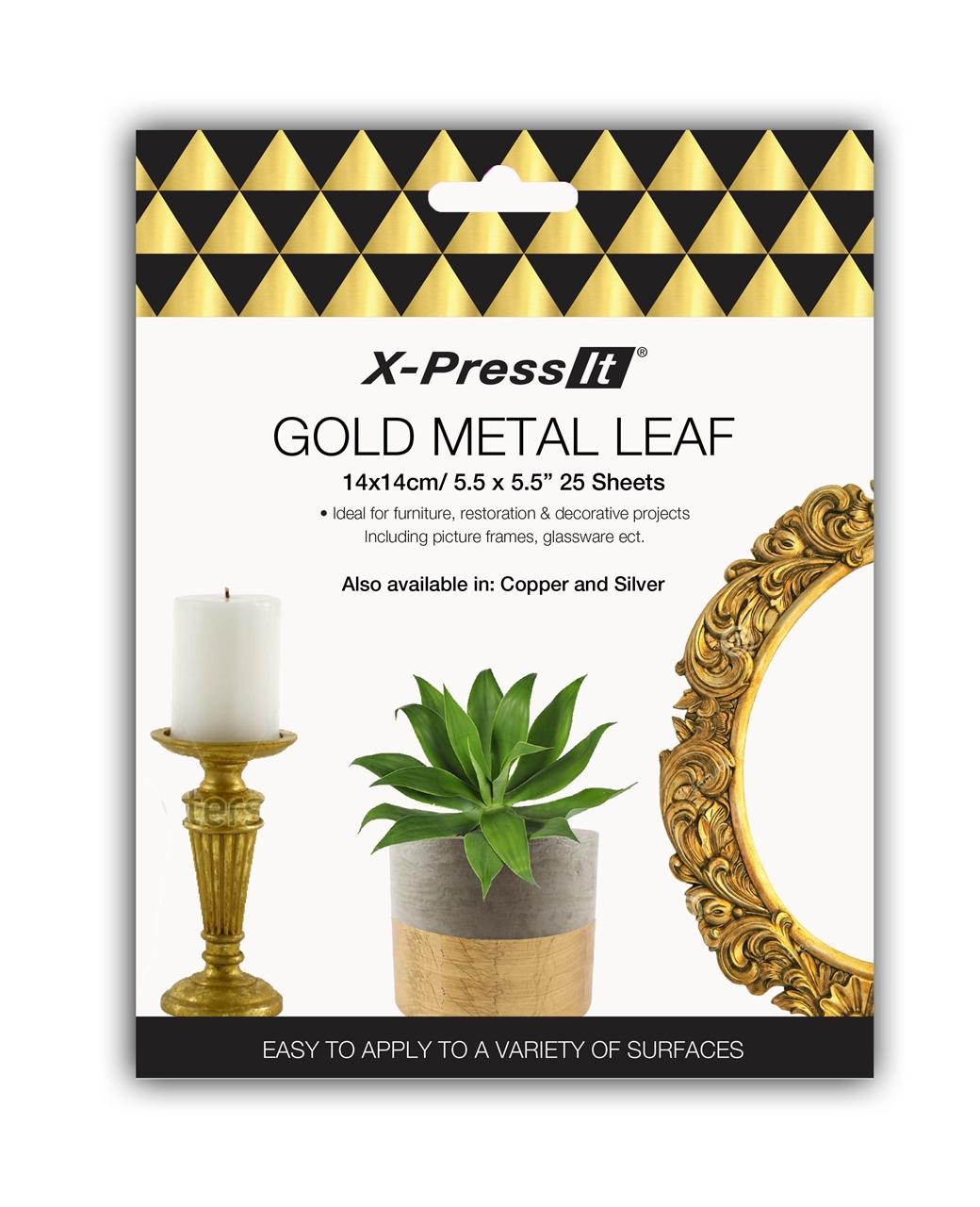 X-Press It Metal Leaf Tutorials