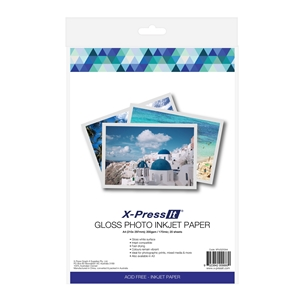 Picture of X-Press It Inkjet Paper Gloss 200gsm A4 (20)