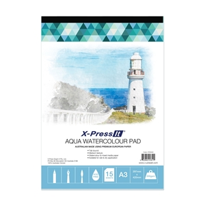 Picture of Aqua Pad Tab Bound 200gsm A3