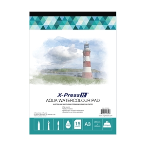 Picture of Aqua Pad Tab Bound 300gsm A3