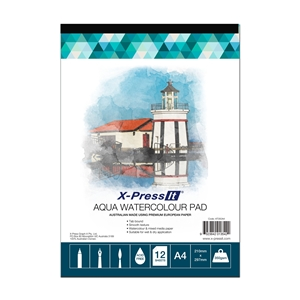 Picture of Aqua Pad Tab Bound 350gsm A4
