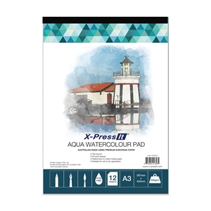 Picture of Aqua Pad Tab Bound 350gsm A3