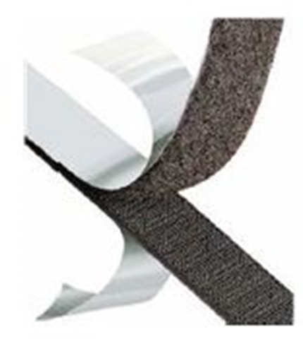 Picture of Hook Black Strip 25mm x 25m