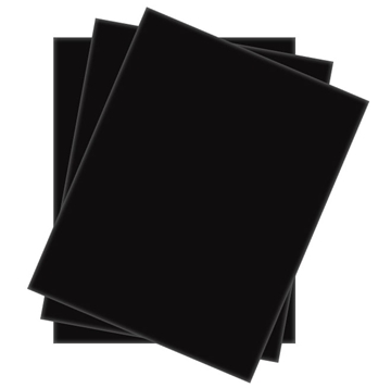 Picture of Foamboard Black 40x60 5mm (25 sheets)