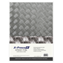 Picture of X-Press It Sticky Foil Tread Plate A4