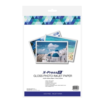 Picture of X-Press It Inkjet Paper Gloss 200gsm A3 (20)